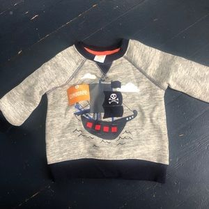 Gymboree new with tags pullover sweatshirt